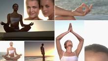 Yoga Sunset Meditation